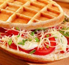 Waffle-Factory lance les gaufres salées !
