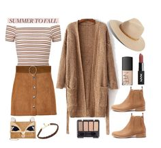 """""""Summer to Fall Layering'"""" by dianefantasy ❤ liked on Polyvore featuring Miss Selfridge, Mollini, rag & bone, Soaked in Luxury, Betsey Johnson, Yves Saint Laurent, NARS Cosmetics, layers, polyvorecommunity and polyvoreeditorial"""