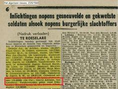 Loenhout tijdens WOII - Geschiedenis van Loenhout