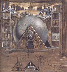 Juliet's Tomb - (Salvador Dali)