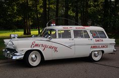 1956 Ford Ambulance