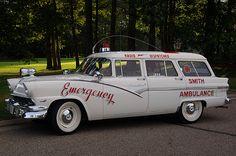 1956 Ford Ambulance