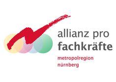 Metropolregion Nürnberg  Die Metropolregion Nürnberg beschäftigt sich im Rahmen einer eigenen Initiative mit dem drohenden Fachkräftemangel. Natürlich braucht auch diese »Allianz pro Fachkräfte« einen eigenen Markenauftritt. klok realisierte gerne ein Logo, das sich nahtlos in das CI der Metropolregion Nürnberg einfügt.