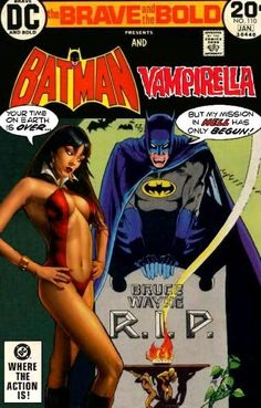 Super-Team Family: The Lost Issues!: Batman and Vampirella