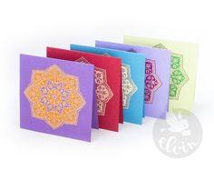#elvinpaper #elvinshop #handmadepaper #mandala #greetingcard  #beoriginal #welovepaper