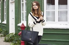 Sofie Eilersen spotted i objkamille knitted pullover  www.sofiescloset.dk