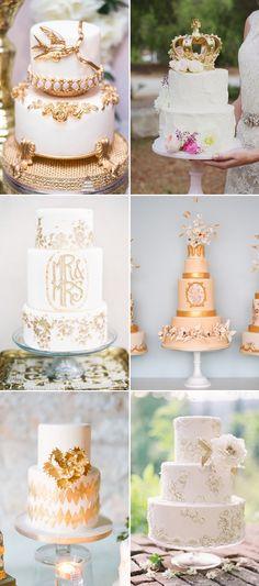 20  Gorgeous Fairytale Wedding Cakes | http://www.deerpearlflowers.com/20-gorgeous-fairytale-wedding-cakes/
