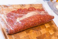 Italiensk köttfärslimpa - 56kilo.se - En mat & Inspirationsblogg Keto Recipes, Snack Recipes, Snacks, Oreo Brownies, Lchf, Beef Dishes, Something Sweet, Bacon, Food And Drink