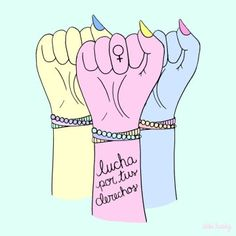 These Anti-Catcalling Illustrations Pack A Feminist Latina Punch Feminist Quotes, Feminist Art, Carol Rossetti, Intersectional Feminism, Some Girls, Power Girl, Illustrations, Powerful Women, Women Empowerment