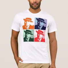 Al Capone Pop Art T-Shirt - click/tap to personalize and buy Al Capone, American Apparel, Famous People, Pop Art, Fitness Models, How To Make, How To Wear, Success, Words