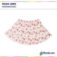 #Falda #Lobo de Mapamondo #Moda #Folk  Para ver talles y comprar ¡Hacé click en la imagen!