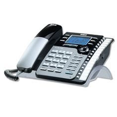 RCA 25205RE1 2-Line Full Duplex Speakerphone Answering System by RCA. $49.99. 4-Line Expandable Corded Phone with Answering System. Save 29% Off!