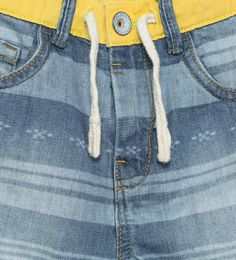 ZARA - KIDS - Denim bermuda shorts