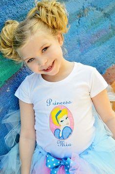Princess Cinderella Birthday Tutu Set. Lilly NEEDS this for her birthday shoot!