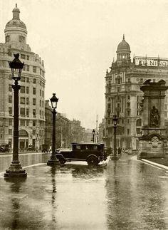 Plaça Catalunya 1932, Barcelona