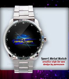 New Rare BAYLINER BOATS Sport Metal Watch