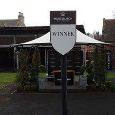 Winners enclosure,Musselburgh.