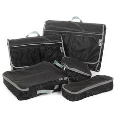 TravelSmith Smart Pack Organizers 5-piece Kit