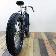 obanyaki: Fat Tire SURLY NECROMANCER PUGSLEY ABOVE BIKE CUSTOM #fatbike #bicycle