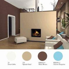 21 best brown accent wall images paint colors colores paredes rh pinterest com