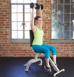 Seated Overhead Press exercise
