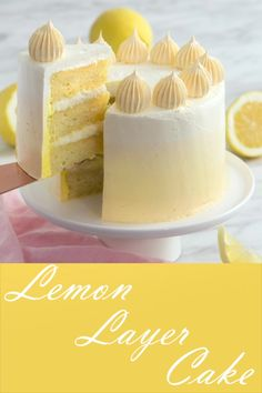 Layer Cake Looking for an easy cake to bake for Mother's Day? Try this easy lemon cake with a yellow ombre buttercream frosting.Looking for an easy cake to bake for Mother's Day? Try this easy lemon cake with a yellow ombre buttercream frosting. Easy Vanilla Cake Recipe, Chocolate Cake Recipe Easy, Easy Cake Recipes, Chocolate Recipes, Cookie Recipes, Lemon Cake Recipes, Layer Cake Recipes, Best Lemon Cake Recipe, Cake Recipes From Scratch