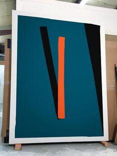 Geometric Painting, Geometric Art, Abstract Art, Hard Edge Painting, Painting & Drawing, Pinturas Art Deco, Modern Art, Contemporary Art, Minimal Art