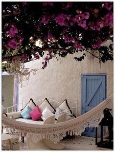 hängematte für balkon outdoor