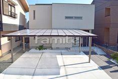 施工例ガレージまわり 駐車場屋根 土間コンクリート(現場番号:00021671)