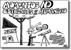 Momentos NO estelares de la humanidad