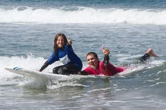 #SurfsUp with private #surf lessons with #SanDiego Surf School!