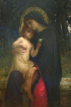 L'Addolorata (Our Lady of Sorrows) Painting by Antoine Auguste Ernest Herbert