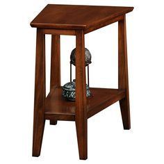 Leick Delton Triangle End Table - 10402