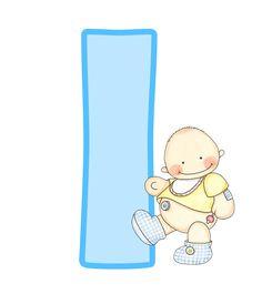 Alfabeto con lindo bebé. | Oh my Alfabetos!