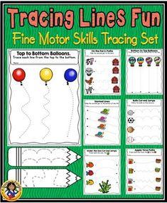 Fine Motor Skills - Tracing Lines Fun