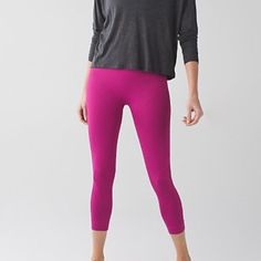 LULULEMON Zone in Crop size 10 NWT. LULULEMON Zone in Crop size 10 NWT. No trade.  Raspberry.   ❌ TRADE❌  SOLD OUT ONLINE.  For those who want to tell me they went on sale, I know. lululemon athletica Pants Ankle & Cropped