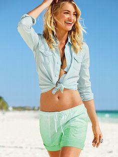 Linen Ombré Short #VictoriasSecret http://www.victoriassecret.com/swimwear/cover-ups/linen-ombr-short?ProductID=105061=OLS?cm_mmc=pinterest-_-product-_-x-_-x