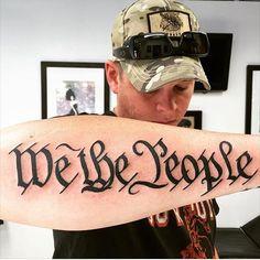 45 Creative Patriotic Tattoo Ideas To Reflect American Pride