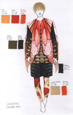 Fashion Illustration for Feel the Yarn 2018 / Cathrin Baer