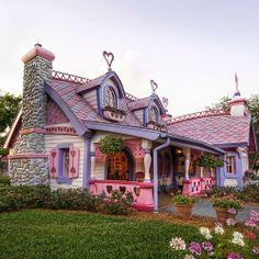 It looks like a giant Polly pocket house!