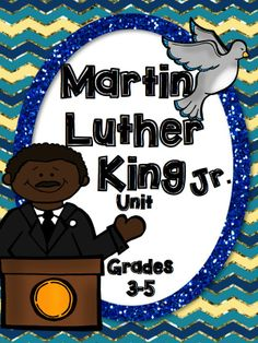 Martin Luther King Jr. Unit for grades 3-5 Lots of great writing activities, Fact and opinion, Cause and Effect, and more….