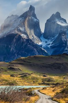 Chile, Patagonia, Torres del Paine National Park