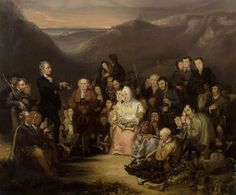 George Harvey, The Covenanter's Preaching, 1830