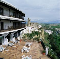Parador de Arcos de la Frontera  Stayed at this one 3 or 4 times, take a balcony room, views superb!