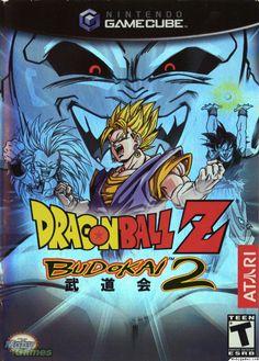 Dragon Ball Z Budokai 2 Gamecube Game