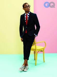 Pharrell Williams GQ cover!