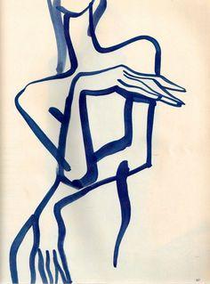 Mats Gustafson Veruschka Italian Vogue December 1988 (via nezartdesign) December 29 2019 at Figure Drawing, Line Drawing, Painting & Drawing, Body Painting, Art Et Illustration, Illustrations, Inspiration Art, Art Inspo, Mats Gustafson