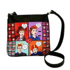 Cartoon I Love Lucy Cross Body Purse | LucyStore.com, $23.95