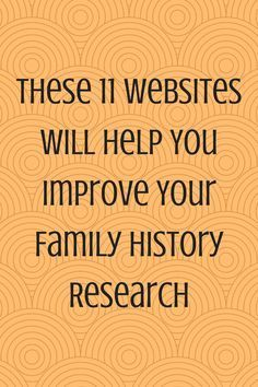 11 Family History Websites You Should Check Out Now - Genealogy Resources - Free Genealogy Sites, Genealogy Search, Genealogy Forms, Family Genealogy, Ancestry Websites, Mormon Genealogy, Genealogy Humor, History Websites, Genealogy Organization