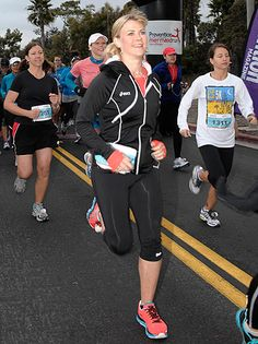 Alison Sweeney, L.A. Marathon: Actors, Agents and Execs are Lacing Up - The Hollywood Reporter